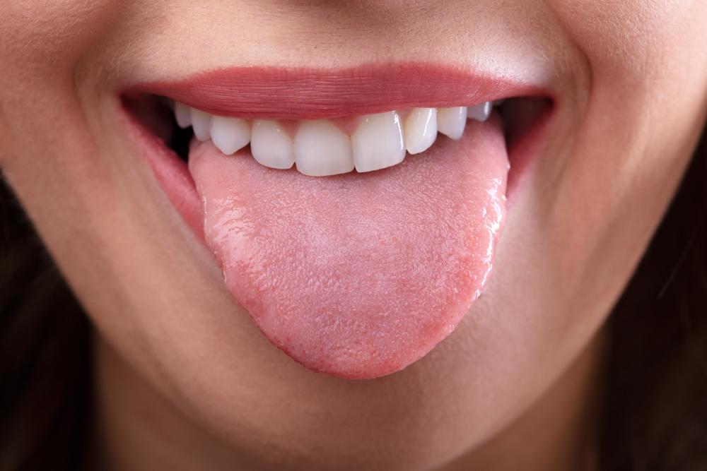 komischer geschmack mund