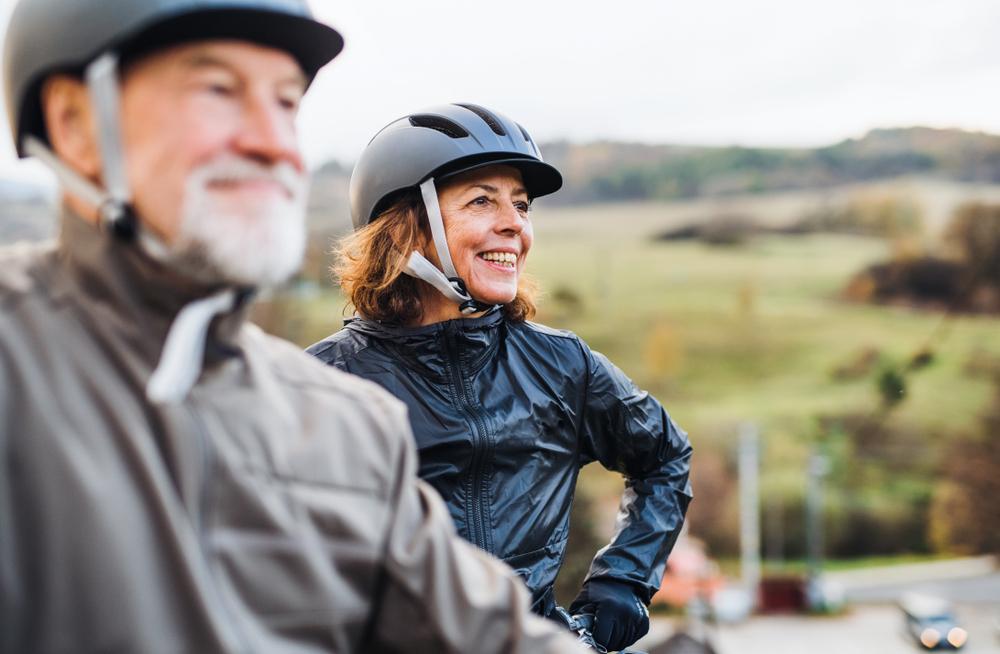senioren fahrradtour