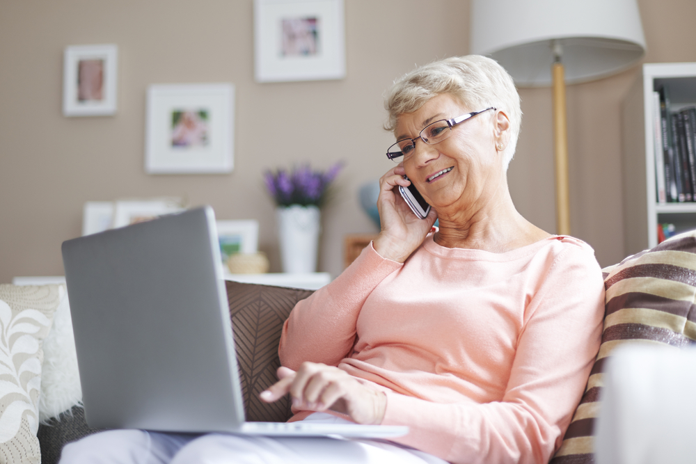 senioren und das internet