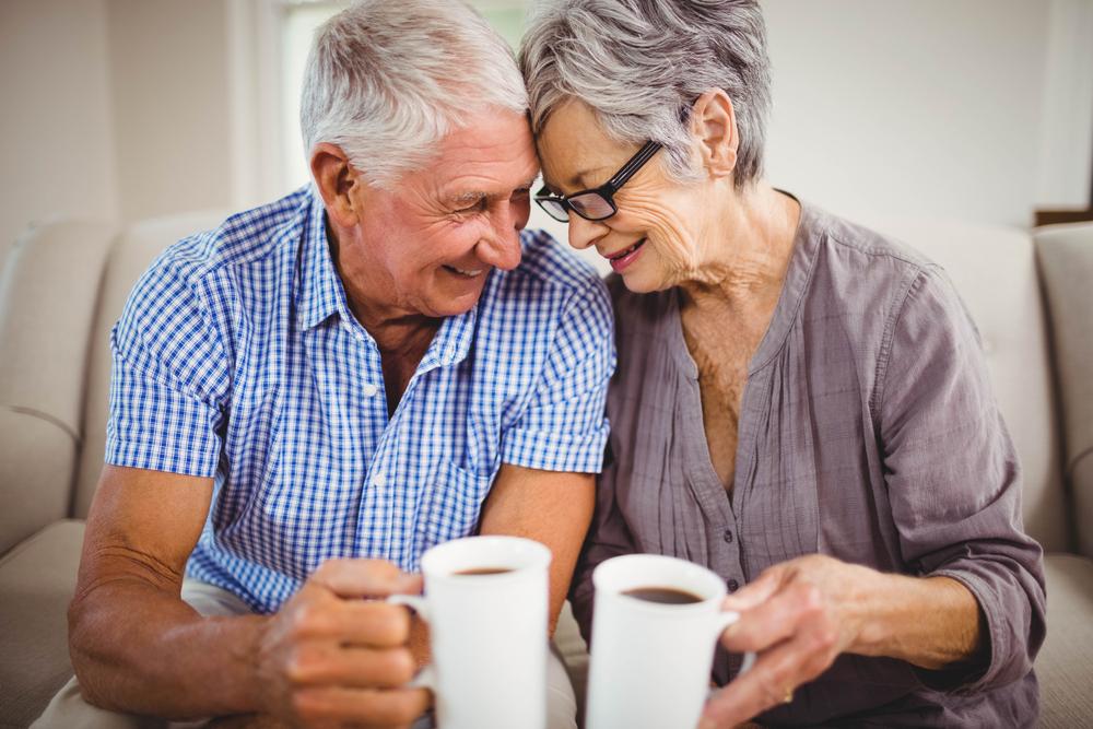 verliebte senioren