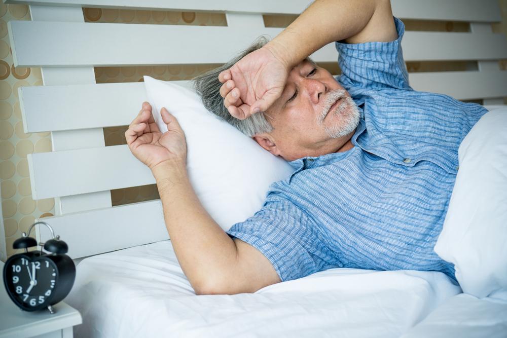 schlafloser senior