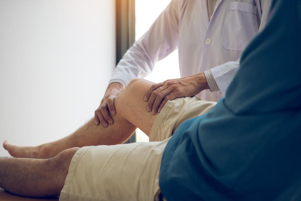 Physiotherapie gegen wassereinlagerung